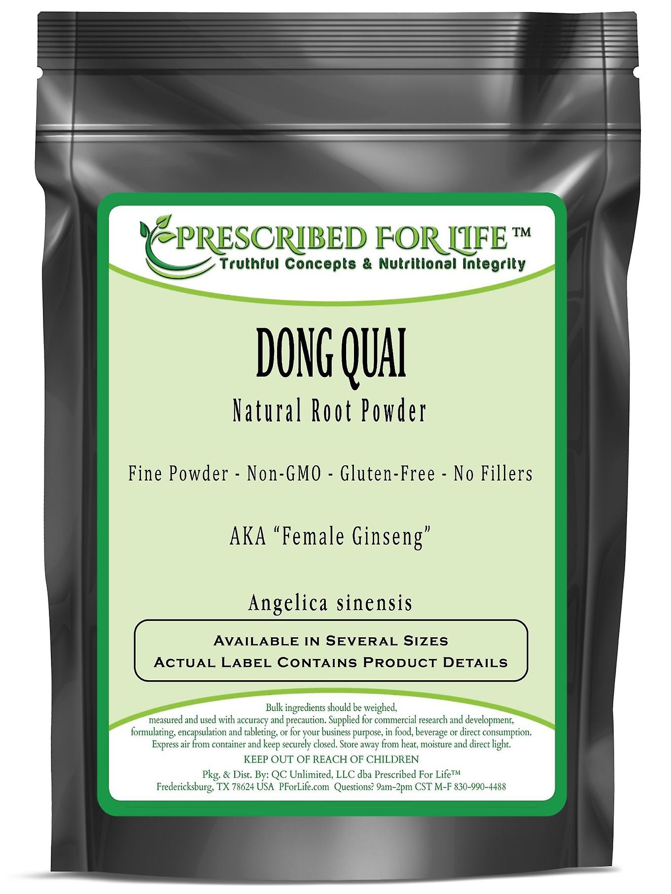 Dong Quai - Natural Root Fine Powder - No Fillers (Angelica sinensis)