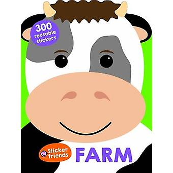 Sticker Friends Farm by Roger Priddy - 9781783413683 Book