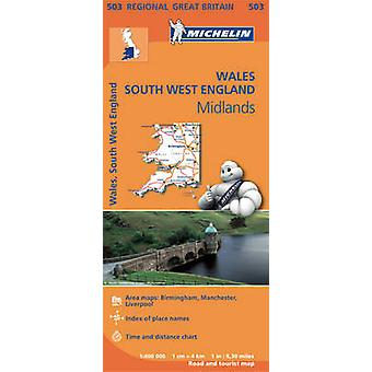 Wales - the Midlands - South West England - 9782067183308 Book