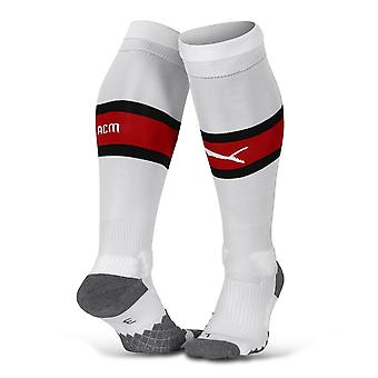 2019-2020 AC Milan Puma Home Football Socks (White) - Kids