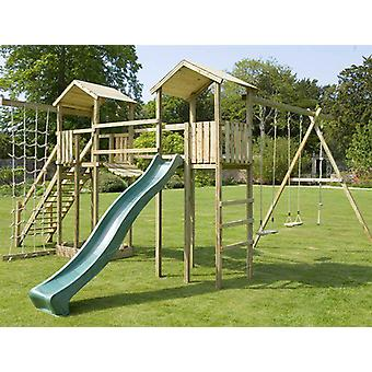 Action Monmouth Twin Tower Wooden Climbing Frame