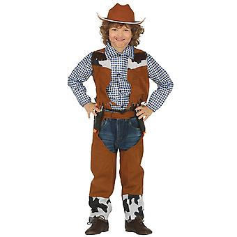Niños chicos niñas rodeo vaquero disfraces traje de vestir