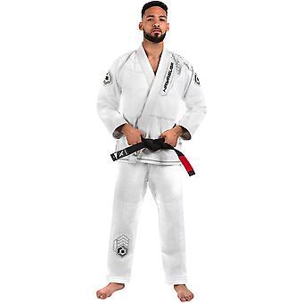 Hayabusa Gold Weave Warrior Premium Jiu-Jitsu Gi - White