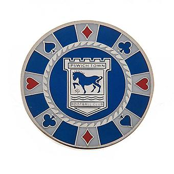 Ipswich Town FC Casino Chip Ball Marker