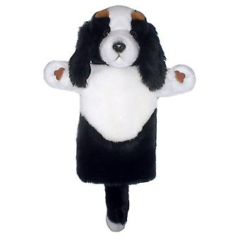 Hand Puppet - Long-Sleeved Glove - King Charles Spaniel Soft Doll PC006053