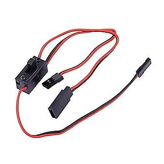 1 Piece RC ignition switch 3-way Switch for JR conductor and charging cable for Futaba