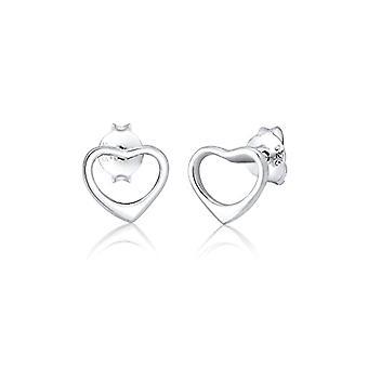 Elli Silver Women's Pin Earrings 310611617