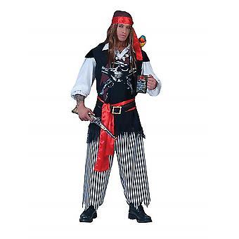 Pirate Pirate Men's Costume Sailor Sea Bear Men's Costume