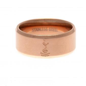 Tottenham Hotspur Rose guldpläterad ring liten