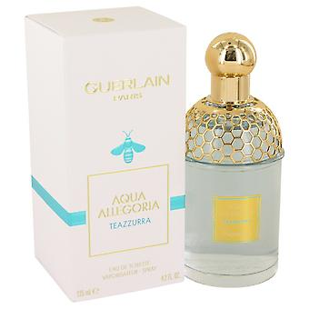 Aqua Allegoria Teazzurra by Guerlain Eau De Toilette Spray 4.2 oz / 125 ml (Women)
