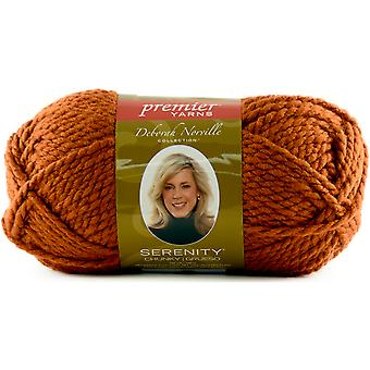 Deborah Norville Collection Serenity Chunky Solid Yarn-Rust DN700-40