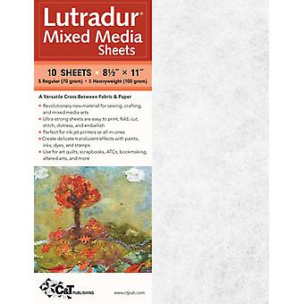 Lutradur Mixed Media Sheets 8 1 2