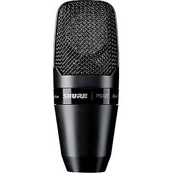 Studio microphone Shure PGA27-LC Transfer type:Corded incl. clip, incl. shock mount, Steel enclosure