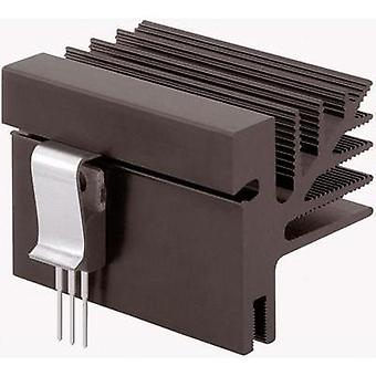 Fin heat sink 3.25 C/W (L x W x H) 100 x 33 x 35 mm TO 218, TO 220, TO 3P, TO