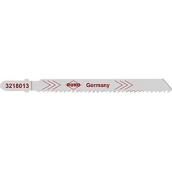 Jigsaw blades RUKO 3228013 Soft steel 3 to 6 mm, non-ferrous heavy metals, aluminium