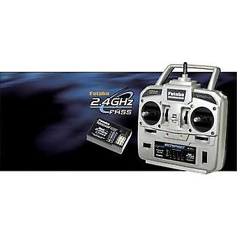 Futaba Skysport T4YF Handheld RC 2,4 GHz No. of channels: 4 Incl. receiver