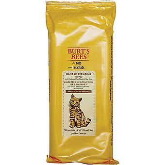 Burt's Bees Cat Wipes 50/Pkg-Dander Reducing FFP7372