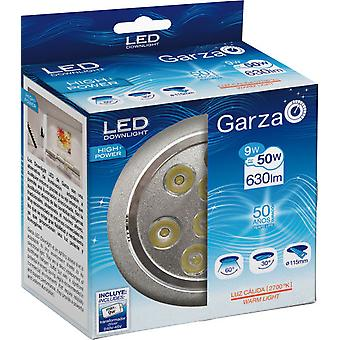 Garza Recessed Led Hp 27K 9W 630LM Aluminum 60th