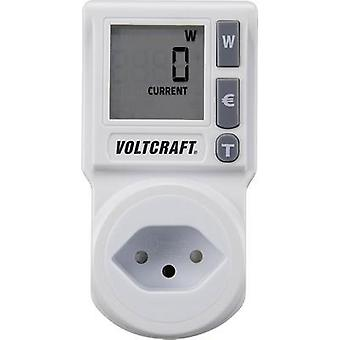 Energy consumption meter VOLTCRAFT EM 1000 CH built-in child safety guard, Selectabl