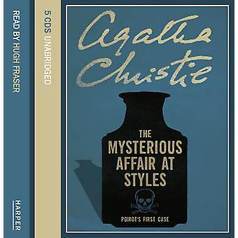 The Mysterious Affair at Styles 9780007191055 by Agatha Christie & Hugh Fraser