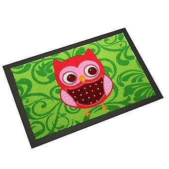 Design floor mat funny OWL | Dirt trapping mats 40 x 60 cm 101772