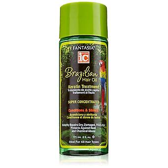 Fantasia IC Brazilian Hair oil Keratin Treatment 6oz
