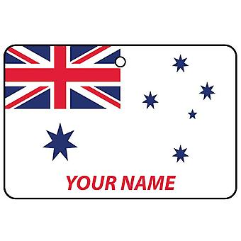 Personalized Australian Navy Ensign Car Air Freshener