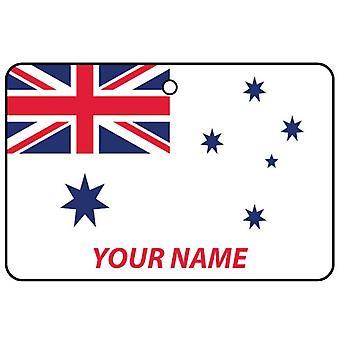 Gepersonaliseerde Australische marine Ensign auto luchtverfrisser