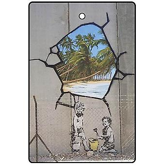 Banksy Hole In The Wall Car Air Freshener