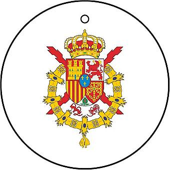 Spanish Crest Coat Of Arms Car Air Freshener