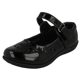 Piger Spot på flade skole sko H2378
