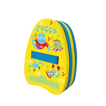 Zoggs Zoggy Swim Backfloat - 2-6 Years - Yellow/Blue