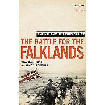 The Battle for the Falklands (Pan Military Classics) (Paperback) by Jenkins Simon Hastings Sir Max
