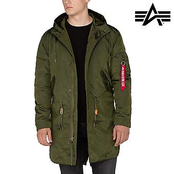 Alpha Industries Jacke Hooded Fishtail TT