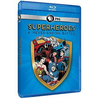 Superhéroes: Una interminable batalla [BLU-RAY] USA importación