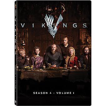 Vikingos: Temporada 4 - importación de Estados Unidos Vol. 1 [DVD]