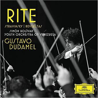 Dudamel/Sbyov - Rite [CD] USA import