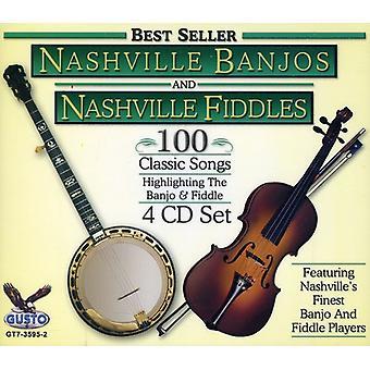 Nashville banjoer & fumler - Nashville banjoer & violiner [CD] USA import