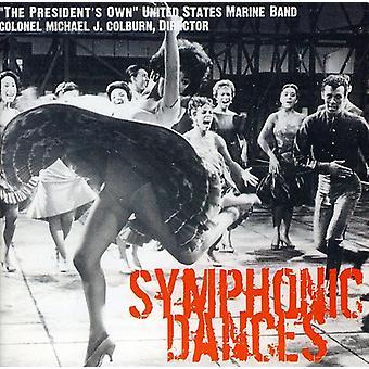 US Marine Band - symfoniske danse [CD] USA importerer
