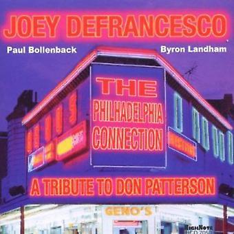 Joey Defrancesco - Philadelphia forbindelse: Hyldest til Don Patterson [CD] USA import