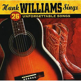 Hank Williams - Sings 26 Unforgettable Songs [CD] USA import