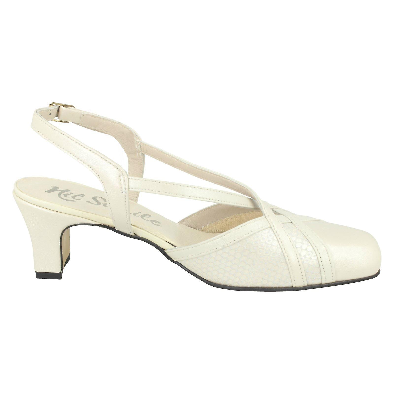 Ladies Nil Simile Narrow Fitting Formal Formal Formal Shoes Bandana 5ea9ff