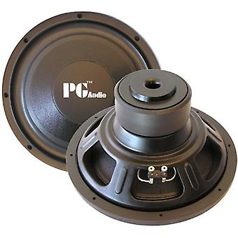 PG audio E124, 12 ' 30 cm subwoofer, 600 watts max. 1 piece!