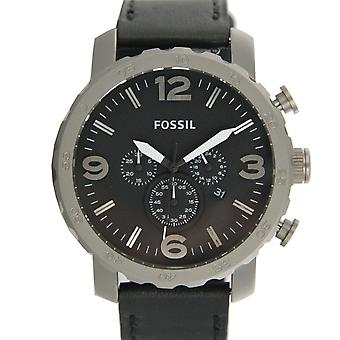 Fossil men's watch Chronograph Watch XL leather TI1005