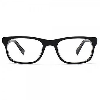 Hook LDN Kashmir Glasses In Black On Clear