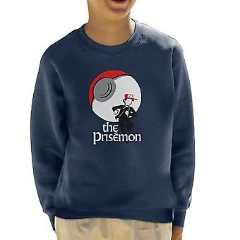 The Prisemon Pokemon The Prisoner Mash Up Kid's Sweatshirt