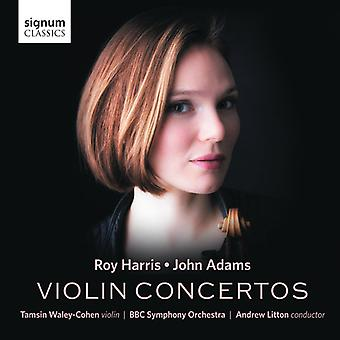 Adams / Harris / Waley-Cohen / BBC Symphony - Harris & Adams: violinkoncerter [CD] USA import
