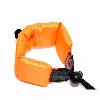 JJC oransje flytende skum kameraet stroppen til Sony Cyber-skudd DSC-TX5, DSC-TX10, DSC-TX20