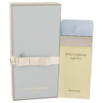 Dolce & Gabbana lys blå Gavesæt 25ml EDT + 50ml Body Cream