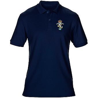REME Royal elektriska maskiningenjörer broderad Logo - officiella brittiska armén Mens Polo Shirt